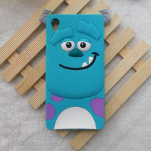 Buy 3D Cartoon Animals Monsters sulley tigger alice cat Soft Silicone Case Cover Sony Xperia Z3 Silicon shell Cell phone cases for $2.96 in AliExpress store