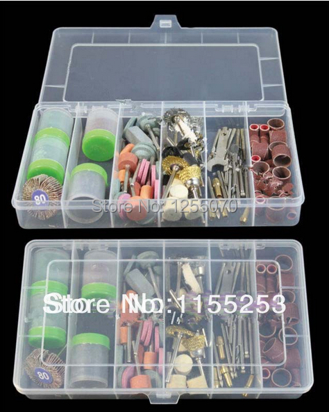 Гаджет  Hot! Free Shippin 161Pcs Bit ,Set High Quanlity With A Box Suit Mini Drill Rotary, Tool Fit Dremel Grinding Accessories None Инструменты