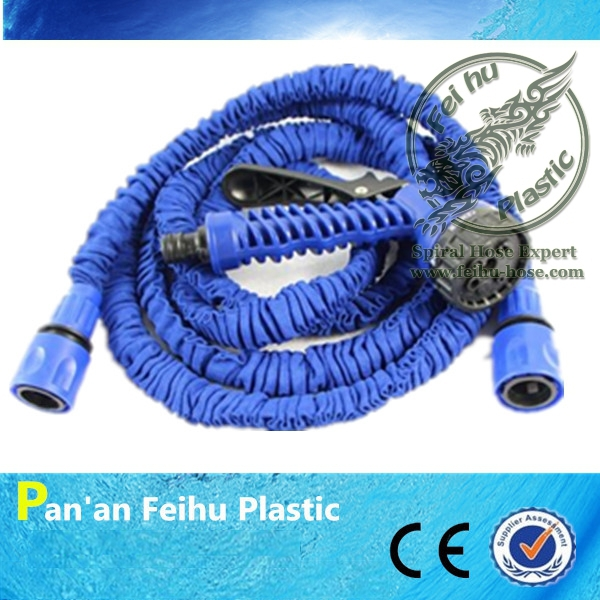[CE &SGS ] 7.5M Eco-friendly Expandable Garden Hose to Watering, Manguera Extensible Garden Water Hose Reels+Garden Sprinkler(China (Mainland))