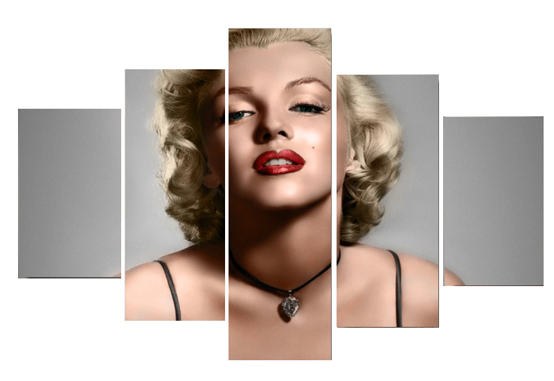 Buy 4 panel home decor hd print portrait painting canvas for Marilyn monroe tattoo canvas