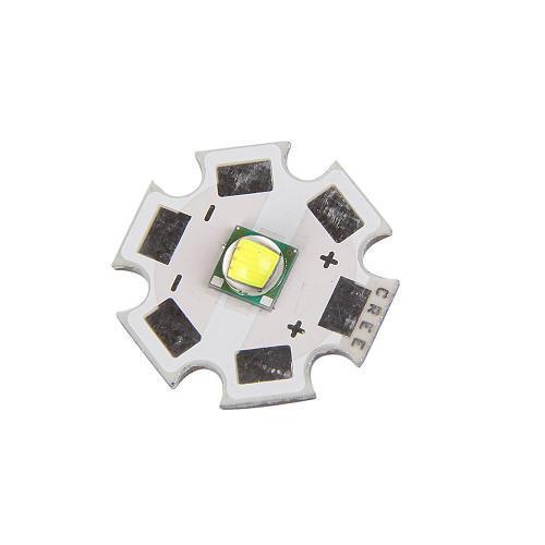 5PCS 10W CREE XM-L T6 LED Emitter 1000 Lumens Flashlihgt 20mm Base(China (Mainland))