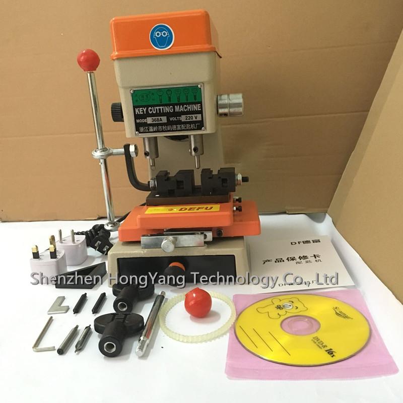 220V 368A key cutter drill machine 200W key machine locksmith supplies key cutting machine key making machine(China (Mainland))