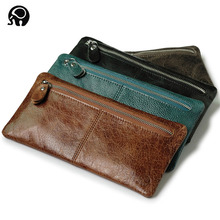 Buy Women Men's Driver license holder100% Black Mens Genuine Leather Wallet Business Casual Credit Card ID Holder Money Clip for $9.33 in AliExpress store