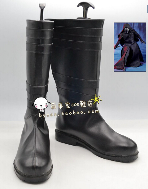 Star Wars Kylo Ren Cosplay Boots Flim Anime Shoes Customized