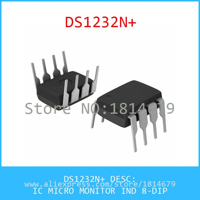 Electronic Components DS1232N IC MICRO MONITOR IND 8-DIP 1232 DS1232 1232N 1pcs(China (Mainland))