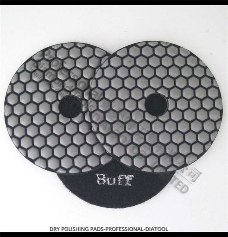 3pcs White buff Dry polishing pads, diamond sanding discs, professional quality<br><br>Aliexpress
