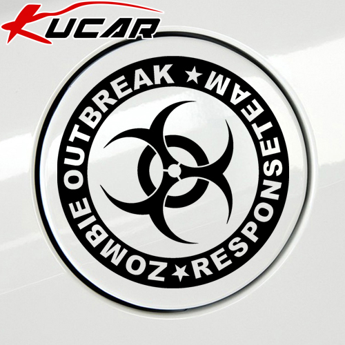 Гаджет  Resident Evil umbrella car stickers fuel tank cap runner the great wall stickers None Автомобили и Мотоциклы