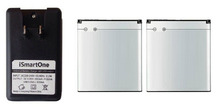 New 2x 1500mah BA750 OEM Battery Charger For SONY Ericsson Xperia Arc LT15i LT15A Arc S
