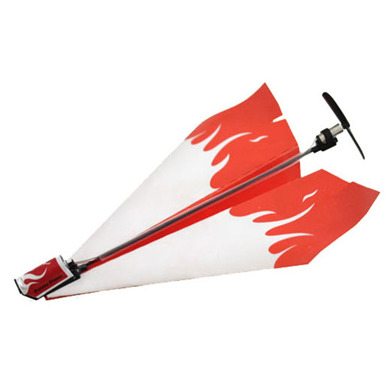 Kids Power Up Electric Paper Plane Airplane Kit Educational Toy Great Gift(China (Mainland))