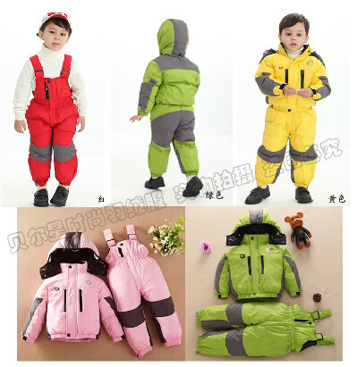 Free Shipping!2014  new arrive boys girls dress up kids winter down jacket ,2014 new fashion kids boys clothes,children Ski suit<br><br>Aliexpress