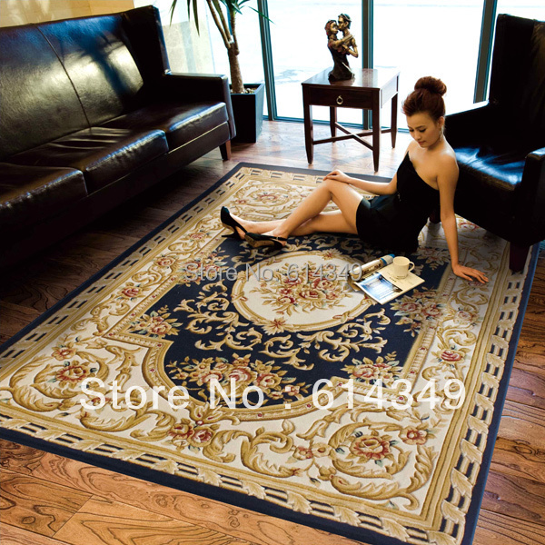 Persian Style Carpet Sitting Room Rugs Flower Fashion New Classical Living Room Coffee Table