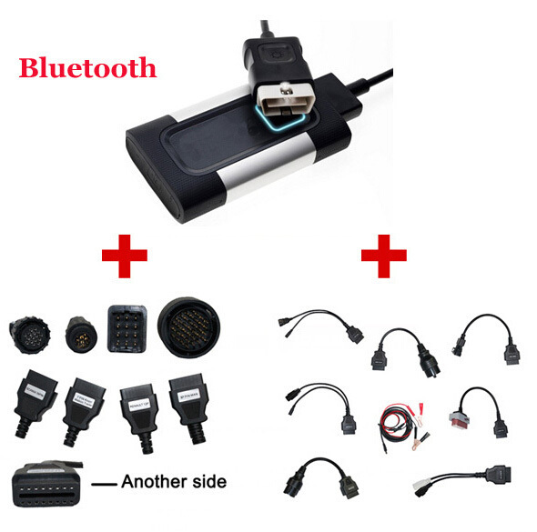2015 Newest Bluetooth For Autocom CDP Pro Diagnostic 3 in 1 for Cars & Trucks Plus Full Cables & Truck Cables--DHL Free Shipping(China (Mainland))