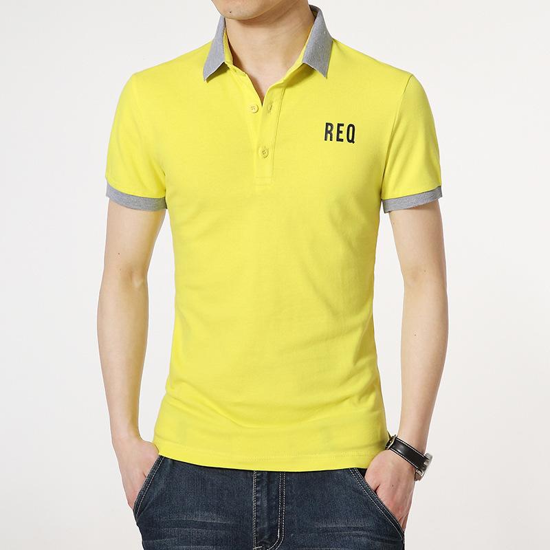 Men camisa masculina polo shirt men 39 s sports golf polos for Plus size golf polo shirts