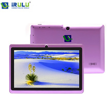 IRULU eXpro 7″ Tablet PC Quad Core 16GB ROM 7″ Android 4.4.2 Real 1024*600 HD Dual Cam 2.0MP Support 3G WIFI Highest Version