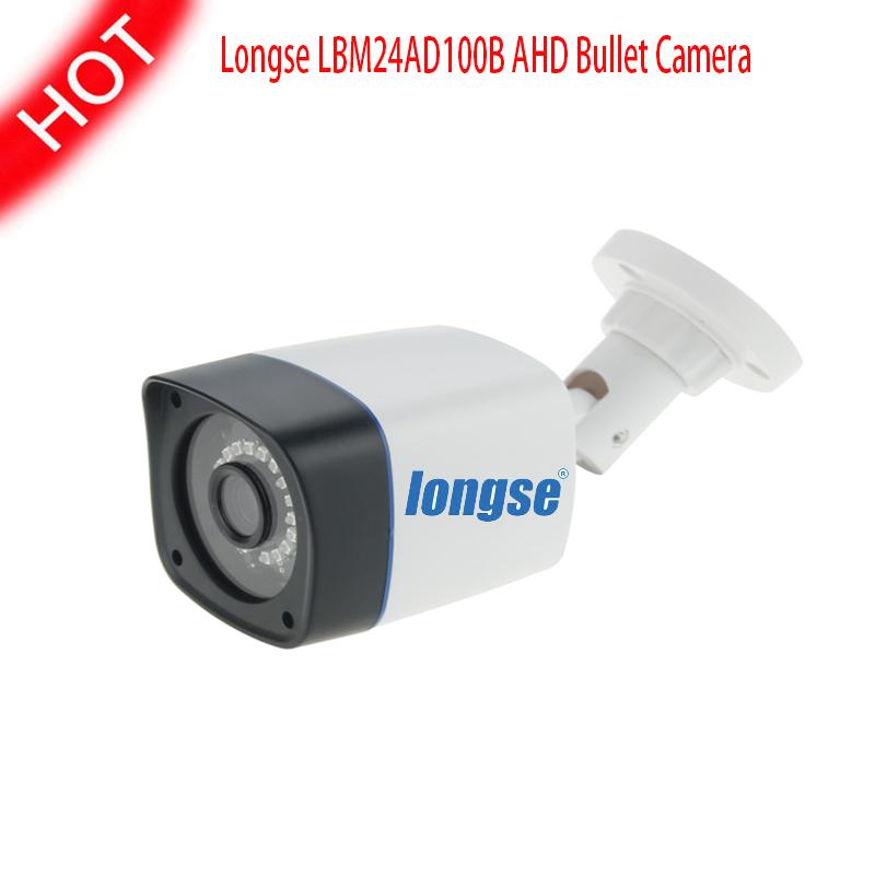 Longse AHD Analog High Definition Camera LBM24AD100B HD 720P 1.0MP 1/4CMOS Sensor with IR-Cut Outdoor Waterproof Bullet Camera<br><br>Aliexpress