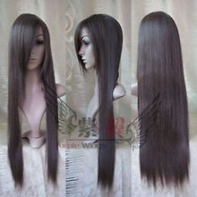 Hat Resista nt Cosplay party TJ****New Long Dark Brown Straight Wig 31 Inch/80cm #0746 - jewe store