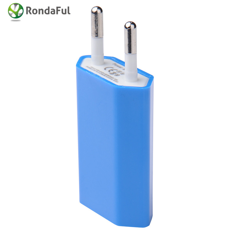 Charger for Phone Charger USB EU Wall Charger Plug 5V AC Micro USB Power Adapter For iphone Samsung Android Phone Adaptador USB