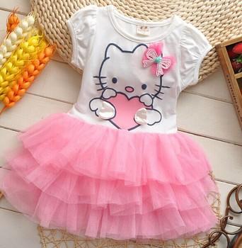 Free shipping 2014 summer new Korean baby girls princess dress girl's fashion dress