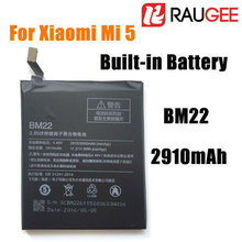 "In Stock 100% Brand New BM22 2910mAh Replacement Built-in Battery For 5.15"" Xiaomi Mi5 M5 Prime Smart Phone+Free Shipping"