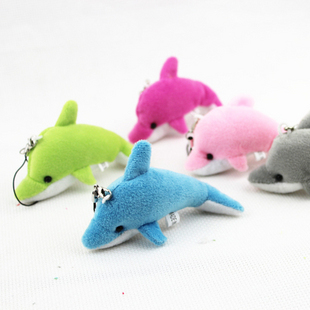Small plush pendant dolphin pendant doll small gift toy(China (Mainland))