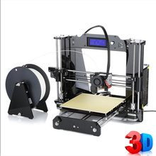 Quality High Precision impressora 3d Prusa i3 DIY 3d Printer kit with 2 Rolls Filament 8GB SD card for Free