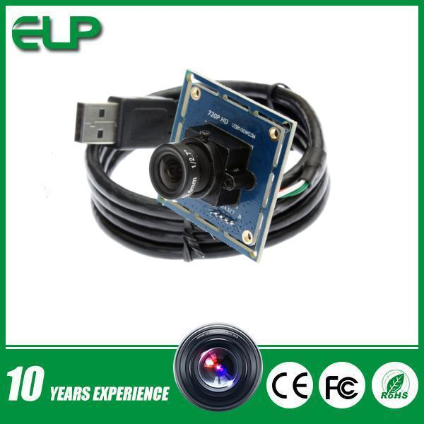 1/4 CMOS OV9712 1280X720 MJPEG 30fps usb board camera for Project video capture(China (Mainland))