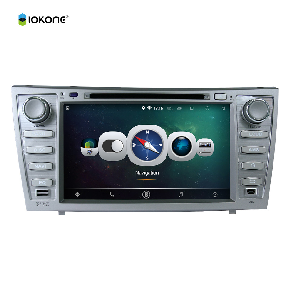 "8"" Android Quad core HD mirror link Car DVD Radio Player Stereo for Toyota Camry 08-11 with rotating UI BT RDS WIFI 3G GPS navi(China (Mainland))"