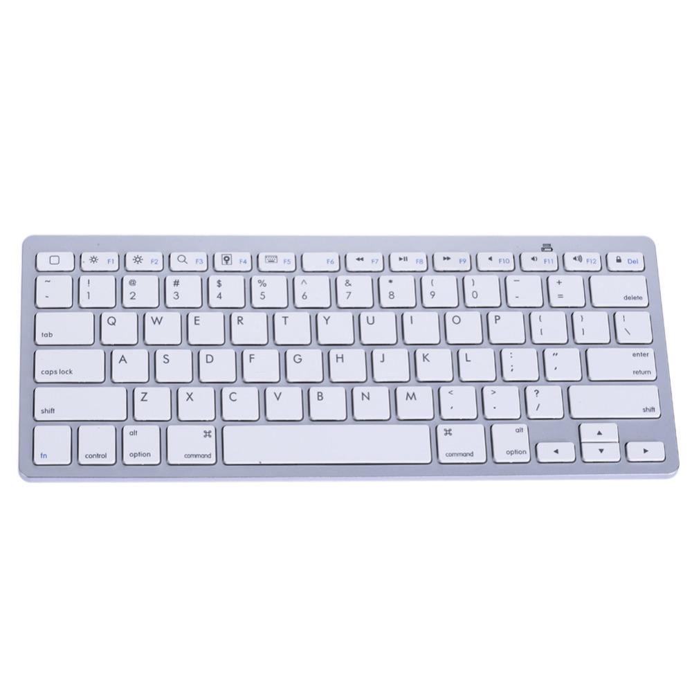 2016 Slim Bluetooth 3.0 Wireless 2.4GHz Keyboard for Apple iPad-1 1 2 3 4 Mac Computer PC Mac Tablets Laptops(China (Mainland))