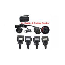 Auto Car OBD OBD2 Diagnostic  truck Cables  Full  Cables For Car diagnostic tools Scanner tool tools (China (Mainland))