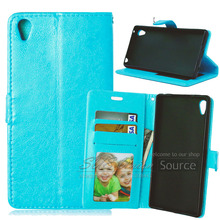 Z4 Flip Leather Case For Sony Xperia Z4 Phone Bags With Card Holder Stand Function Mobile Accessories