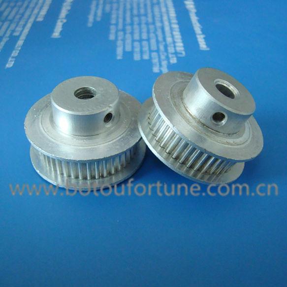 60 teeth mxl synchronous belt pulley aluminium 6mm width 6pcs a pack(China (Mainland))
