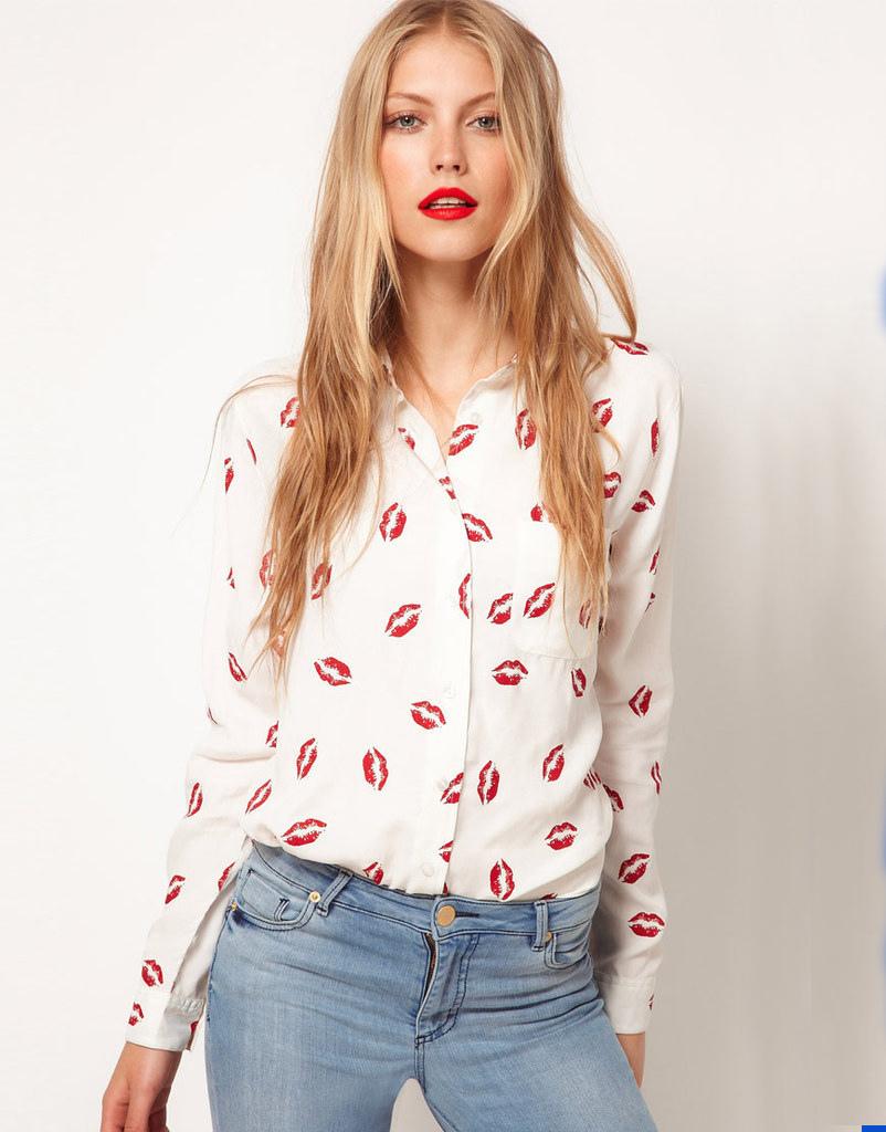 цена Женские блузки и Рубашки Brand new Blusas Femininas 38980365626 онлайн в 2017 году