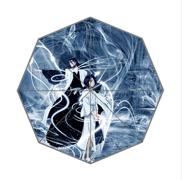 Free Shipping Novelty Items Hot Sale Bleach different Design Automatic Umbrella Customize Advertising Umbrellas(China (Mainland))