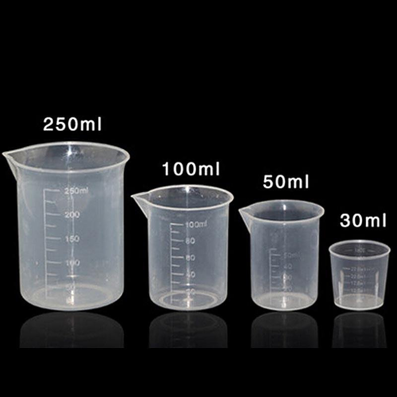 2pcs Plastic Liquid measuring cup 100ml beaker Graduated high qualitty<br><br>Aliexpress