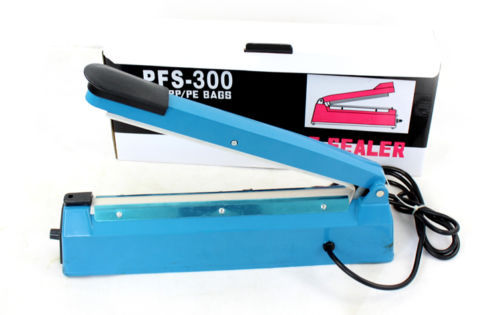220V 440x90x160mm Impulse Heat Sealer 300mm Electric Plastic Bag Sealing Machine 400w(China (Mainland))