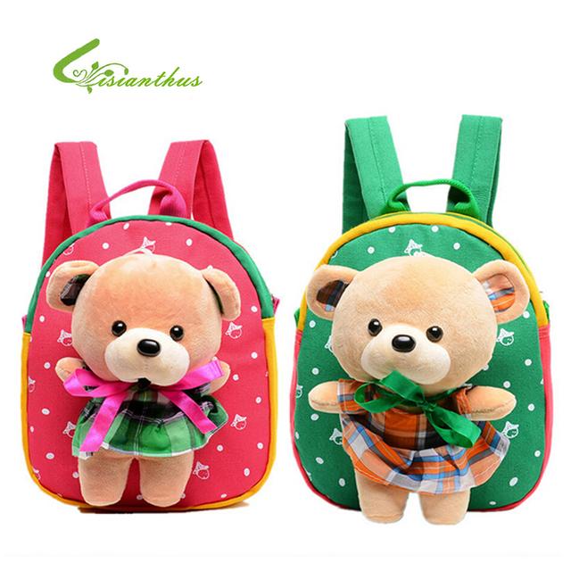 Сумки небольшой ранцы мальчик девочка маленькая рюкзак мультфильм кукла рюкзак мило ...