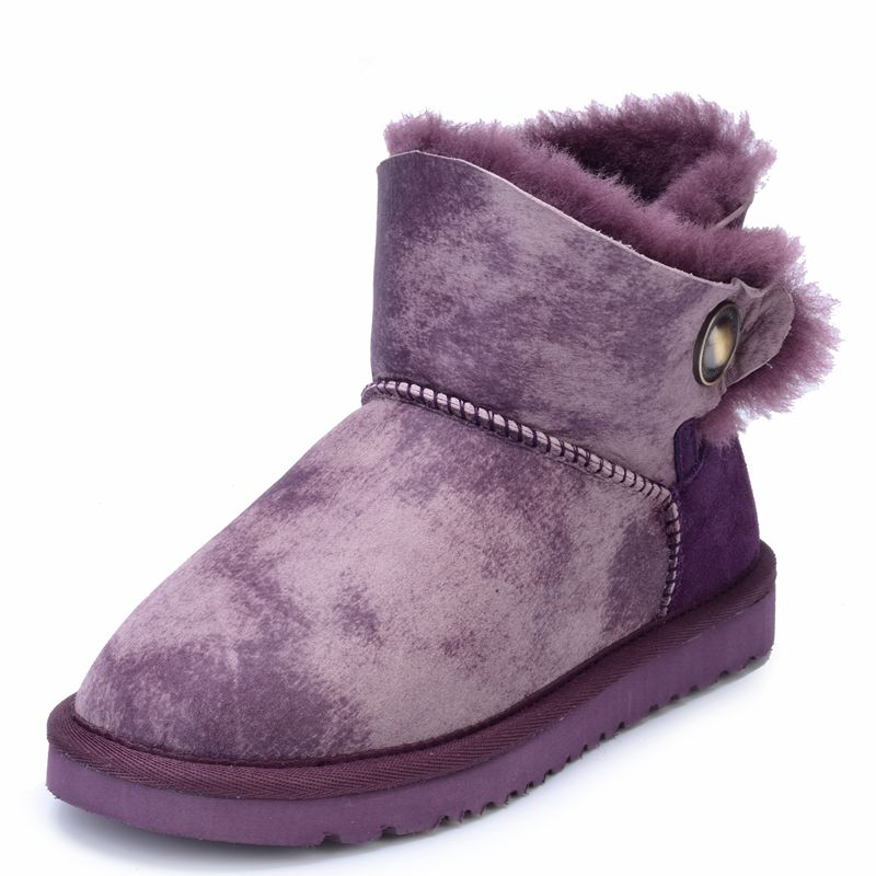 Winter new special 100% Australian Sheepskin Boots warm women boots leather short boots wholesale(China (Mainland))