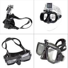For Go pro New high quality Diving Glasses GoPro Hero session 4 3+ 3 2 1 SJ4000 SJ5000 SJ6000 sport camera Silicone Swimming