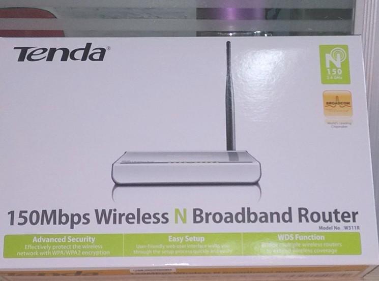 1pcs/lot Tenda W311R Wireless Broadband Router(China (Mainland))