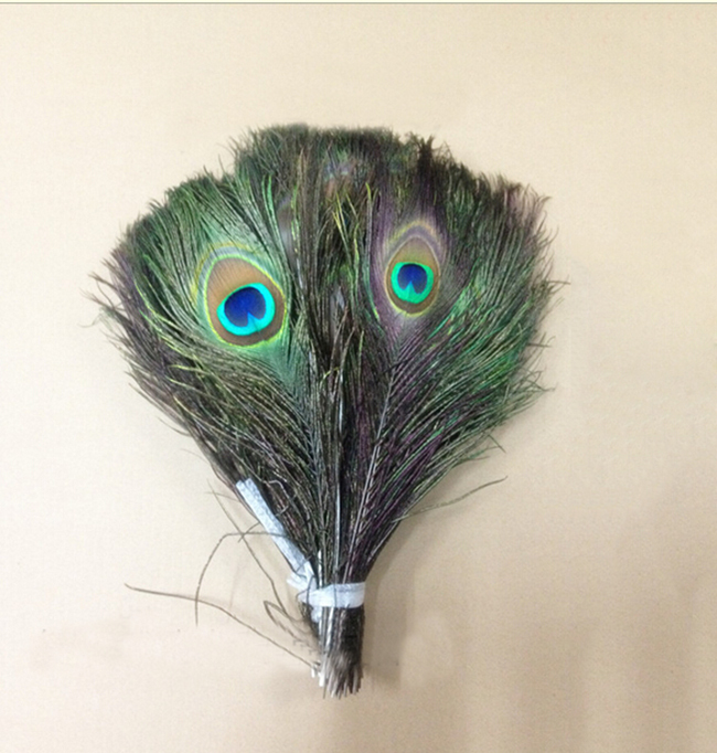 2016 20pcs Beauty Craft Natural Peacock Feathers About10-12 Inches Wedding Party Home Decrotion E752(China (Mainland))