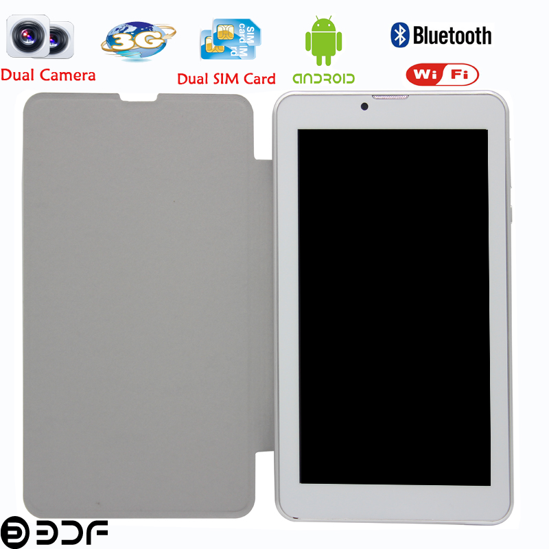7 inch Android Phone Call Sim Card Tablet Pc Dual Core and Dual Card Leather Cover Tablet Smart Tab Pc 7 8 9 10 inch tablet<br><br>Aliexpress