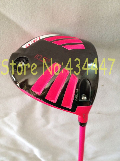 2015 golf clubs Limited pink G30 driver 10.5 loft regular flex come headcover 1pc G30 golf driver right hand(China (Mainland))