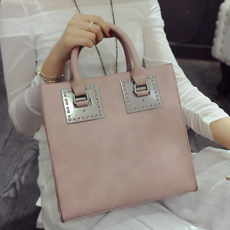 European and American fashion tote spring 2016 new handbag leisure commuter Shoulder Bag Handbag bags sheet shoulder bags online