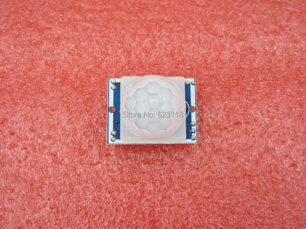 Free shipping 1PCS LOT HC SR501 HCSR501 SR501 human infrared sensor module Pyroelectric infrared sensor imports