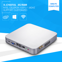 Celeron Mini PC C1037U Dual Core 1.8GHz Industrial Computer With 2G Ram DDR3 Promotion High Config CPU Windows 8 HDMI+VGA(China (Mainland))