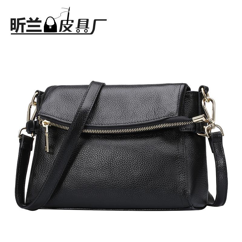 2016 new leather satchel handbag manufacturers wholesale fashion leather shoulder bag(China (Mainland))