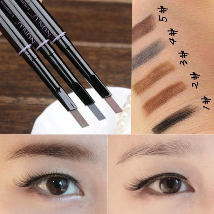 Fashion waterproof eyebrow pencil makeup cosmetic eye liner eyebrow fashion waterproof eyebrow pencil makeup cosmetic eye liner eyebrow pencils pen beauty tools for party makeup tool hb88 us133 fandeluxe Choice Image