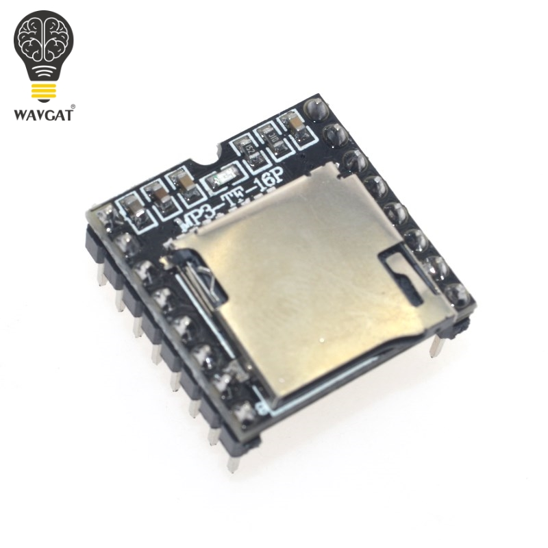Mini MP3 Player Module TF Card U Disk Mini MP3 Player Audio Voice Module Board Arduino DF Play Wholesale