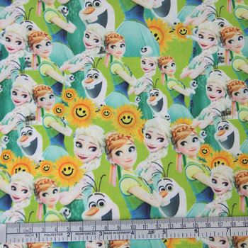 42323 50*147CM patchwork printed cotton fabric for Tissue Kids Bedding textile for Sewing Tilda Doll, DIY handmade materials