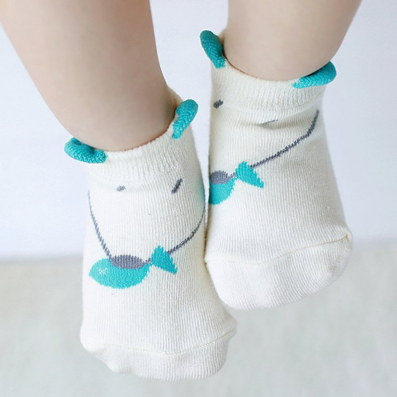 Wholesale Soft Infant Unisex Infant Kids Newborn Mouse Printed Baby Ankle Socks 0-4Y<br><br>Aliexpress